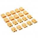 10 Pairs XT60 Male Female Bullet Connectors Plugs for RC Battery