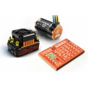 SKYRC Toro 120A Brushless ESC Combo with Toro Short Course Truck 4600kv 4P BL Motor & Program Card