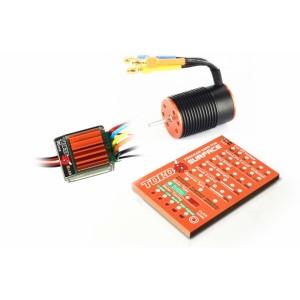 Toro Micro 5050KV 10T 4P BL Motor + M25 25A ESC Combo Kit