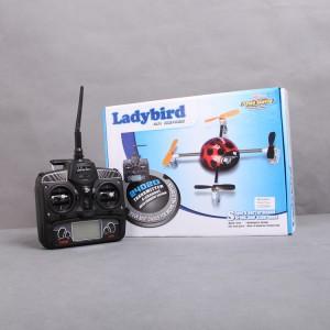 Walkera QR LadyBird Telemetry Function UFO quadcopter with DEVO 7