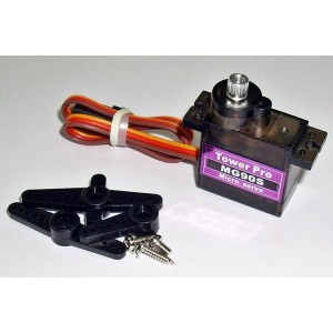 Tower Pro MG90S Metal Gear Speed & Torque R/C Hobby Micro Servo