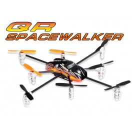 Walkera Y8 QR SpaceWalker Telemetry Function UFO QuadCopter with DEVO 7