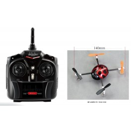 Walkera QR LadyBird V2  Telemetry Function UFO quadcopter with DEVO 4
