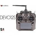 Walkera DEVO 12s 12-Ch 2.4Ghz Telemetry Function Radio System with RX1202 Receiver