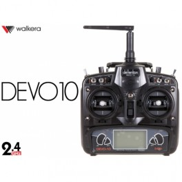 Walkera Devention DEVO10 2.4GHz 10ch Telemetry RC Transmitter & RX1002 Receiver