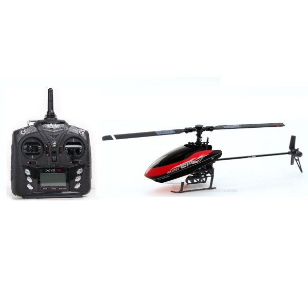 Walkera NEW 2 4GHz Mini CP 6 CH 6 Axis Gyro 3D RC Helicopter