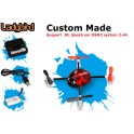 Custom Made QR LadyBird Telemetry Function UFO QuadCopter BODY ONLY