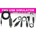 Reflex XTR USB Simulator 3D RC flying Practice cable