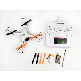 Nine Eagles 2.4GHz 4ch Galaxy Visitor 2 RC Quadcopter With Camera SD Card RTF