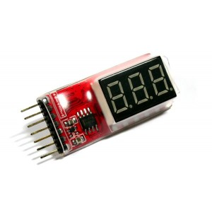RC Model 2-6S Lithium Polymer Battery LED Tester